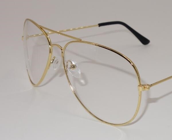 c713f7edffa5 Fashion Brand Designer Gold Eyewear Frames Women Glasses Clear Lens Op –  Onlinediscountshop
