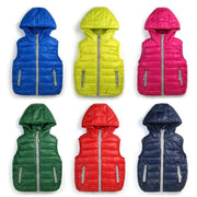 Warm Children vests waistcoats girls/boy Outerwear&Coats vest Brand candy color Kids jackets baby Outerwear&Coats