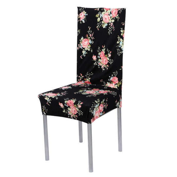 Online discount shop Australia - 7 Color Cotton Blend Chair Covers Removable Stretch Elastic Slipcovers Home Stool Seat Folding Chair Cover Set