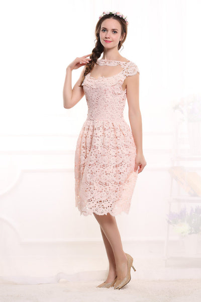 Summer Dress Arrival Women Lace Dress Fashion Ladies Vestidos Plus Size Slim Party Dresses Solid Vestido De Festa