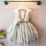 Online discount shop Australia - Baby Girl Toddler Lace Clothing Dress For Infant Floral Princess Dress Children's Dresses kids Clothing