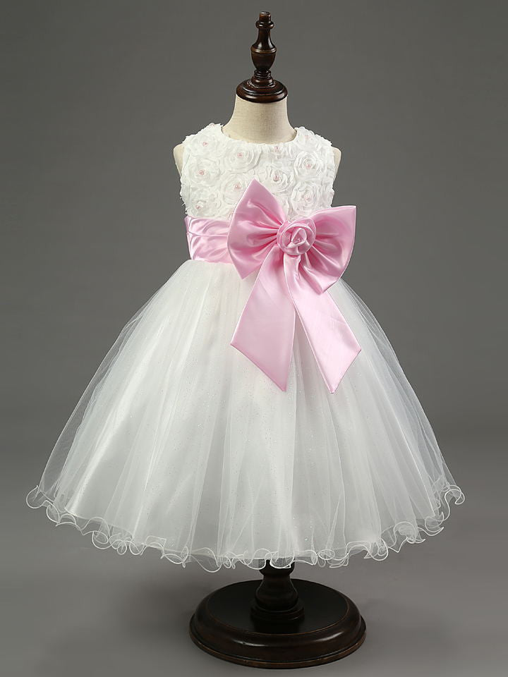 8c80b5822 Online discount shop Australia - Flower girl dresses for wedding pageant  white first holy lace communion