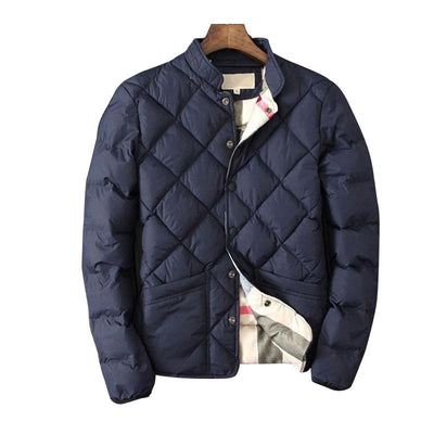 Online discount shop Australia - Coat Men's fashion warm male jacket mens cotton men casual European size stylecoat windbreaker jacket