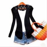 Women's Slim Short Design Turn-down Collar Black Grey Short Coat Jackets For Women Outerwear