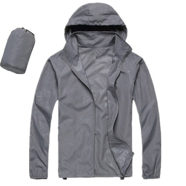 Online discount shop Australia - Men's Women's Casual Jacket Hooded Jackets Fashion Lovers Thin Windbreaker Zipper Coats