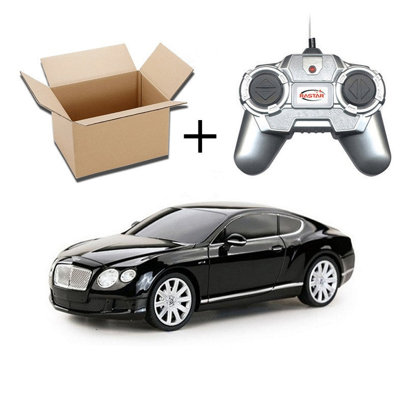 1:24 4CH RC Cars Collection Radio Controlled Cars Machines On The Remote Control Toys For Boys Girls Kids Gifts 2888Bentley Black No Boxa