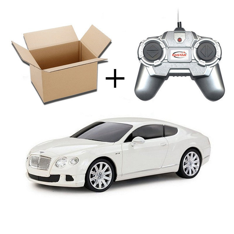1:24 4CH RC Cars Collection Radio Controlled Cars Machines On The Remote Control Toys For Boys Girls Kids Gifts 2888Bentley White No Boxa
