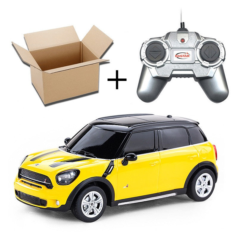 1:24 4CH RC Cars Collection Radio Controlled Cars Machines On The Remote Control Toys For Boys Girls Kids Gifts 2888Mini Yellow No Boxa