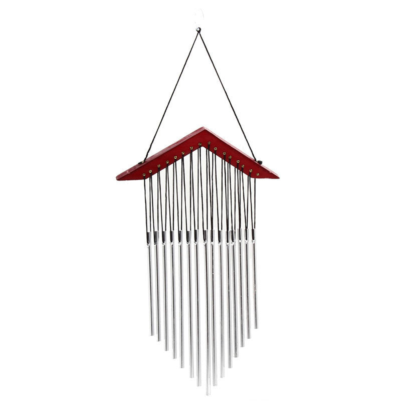 15 Tubes Windchime Yard Garden Wind Bell Outdoor Wind Chimes Decor Gift Wood Decoration Wind Chimes Outdoor Wind Chime Tubes03a