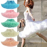 Online discount shop Australia - Fashion Skirt Women Pettiskirt Tutu Teenage Girl Adult Women Tutu Petticoat Dance Wear Party Skirt 15 Colors