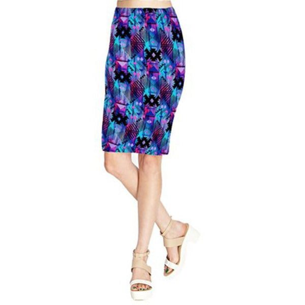 Online discount shop Australia - Adalisa Women Wrap Skirt Vintage High Waist Clothes Women Knee Length Print Pencil Skirts Ladies Midi Skirt Girl