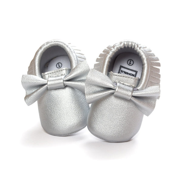 Tassels Baby Moccasin born Babies Shoes Soft Bottom PU leather Prewalkers Boots SL01