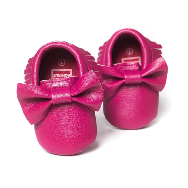 New Tassels Baby Moccasin Newborn Babies Shoes Soft Bottom PU leather Prewalkers Boots SL01