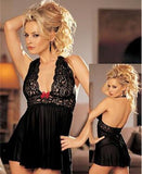 women sexy Deep V-neck slips ladies backless sexy lace full slips