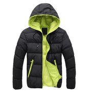 t Jacekt Men Brand Down Collar Casual Warm Coat Outerwear Parka Jacket Size Down Jacket Men M-3XL