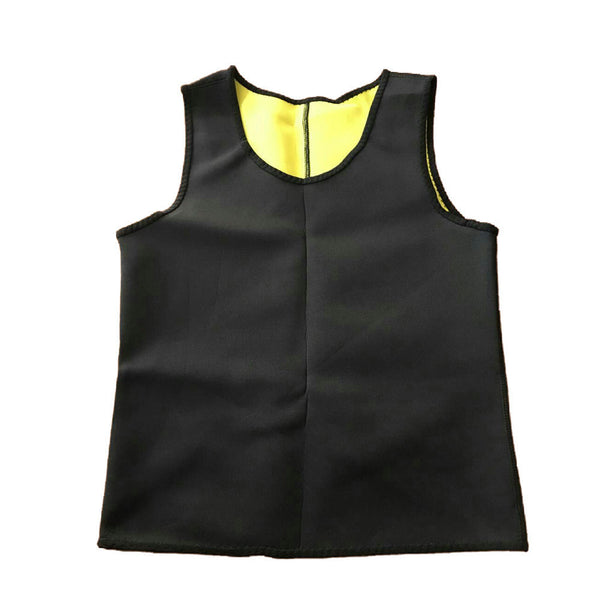 e76605efec Men Tops Vest Ultra Sweat Thermal Muscle Shirt hot shapers Neoprene slimming  body shaper belly waist