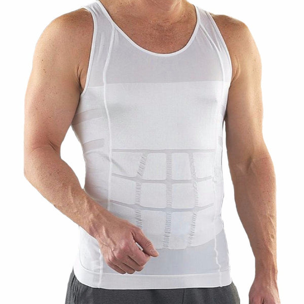 Online discount shop Australia - Men Body Slimming Tummy Shaper Belly Underwear shapewear Waist Girdle Vest
