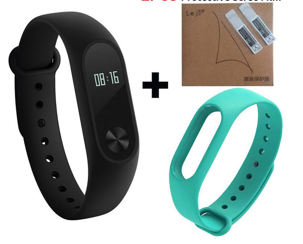 Original Xiaomi Mi Band 2 Miband Band2 Wristband Bracelet Smart Heart Rate Fitness Tracker Touchpad OLED Strap xiomi