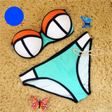 Online discount shop Australia - Bikini Sexy Swimwear Women Push Up Bikinis Set Low Waist Swimsuit Bathing Suit Bathing Suit Women