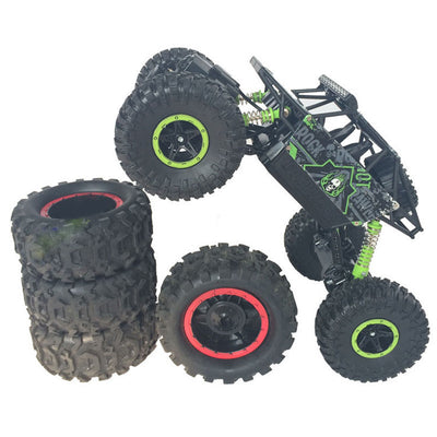 RC Car 4x4 Driving Rock Crawlers Off-Road Car Bigfoot Double Motors Drive Car 4CH 4WD Competitive Remote Control Car Model Toys