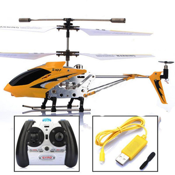 Syma S107g 3.5 Channel Mini Indoor Co-Axial Metal RC Helicopter Built in Gyroscope