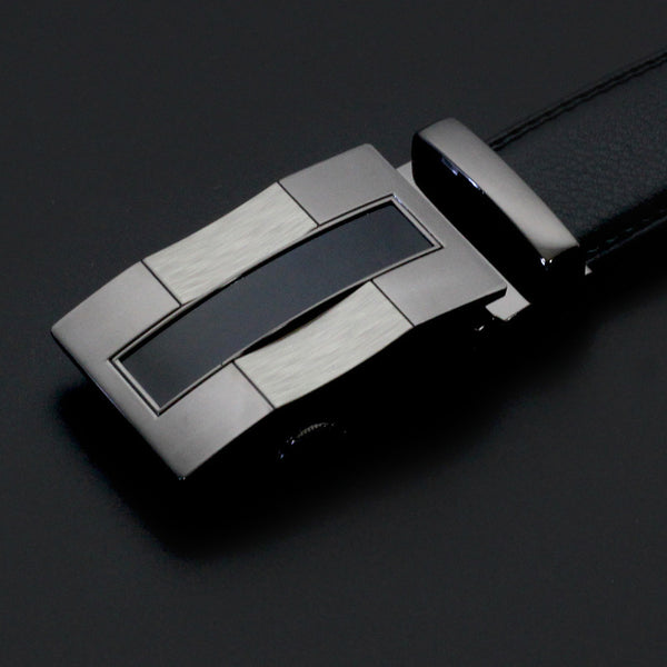 Online discount shop Australia - Belt men automatic buckle fashion leather belts for business men high quality luxury for man