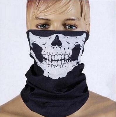 New Fashion Motorcycle Ghost Skull Face Mask Outdoor Sports Warm Ski Caps Bicyle Bike Scarf 032