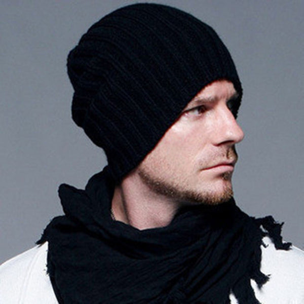 Online discount shop Australia - Beckham Same Style Fashion Beanies Men & Women's Hat Warm Knitted Hats Casual Caps Gorro Touca Bonnet, GS-AHT001