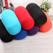 Online discount shop Australia - 35x17CM Micro Mini Microbead Pillow Roll Neck Pillow Column Pillows for Travel