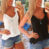 Online discount shop Australia - New  Womens Sexy Lace Crochet Camisole Sleeveless Blouses Tank Tops