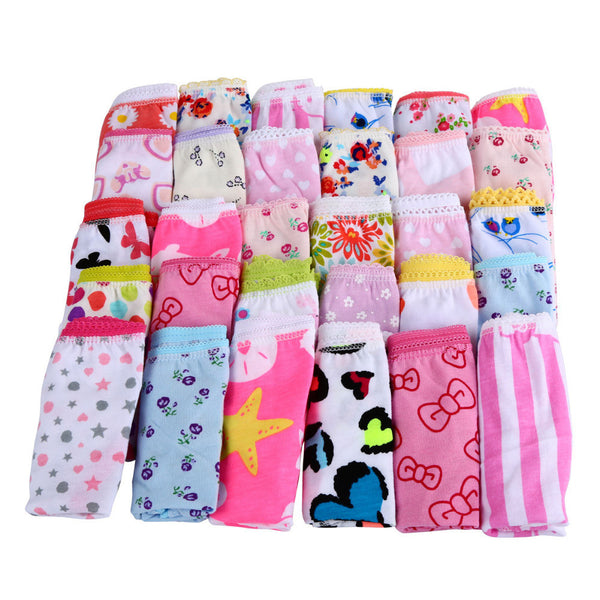 Online discount shop Australia - 6pcs/pack Baby Girls Underwear Cotton Panties For Girls Kids Short Briefs Children Underpants