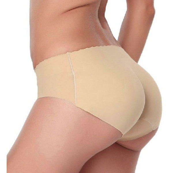 Underwear women Seamless lingerie Underwears Panties Briefs hip and butt pads pantalones mujer silicone hip panty