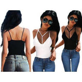 Fashion Women's Sleeveless Bustier Bra Tank Vest Crop Tops Bralette
