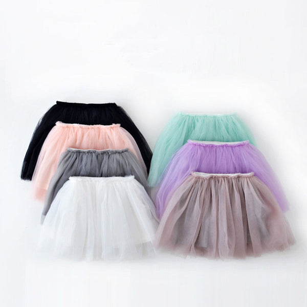 Online discount shop Australia - Lovely ball gown skirt girls tutu skirt pettiskirt 7 colors girls skirts for 2-7 years old kids skirt