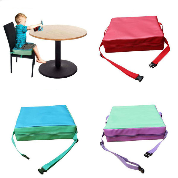 Online discount shop Australia - Children Increased Pad Baby Booster Seat Cushion Adjustable Removable Kids Dining Chair