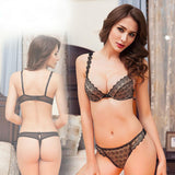 Online discount shop Australia - Luxury Lace Bra Set Balalg Sets Brand Pink Women Underwear Transparent Intimates Daisy Floral Hollow Out Sexy Bra Thonale