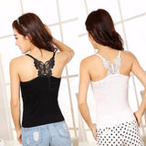 New Sexy Women Lady Lace Strap Sleeveless Shirt Vest Blouse Tank Tops