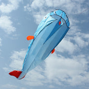 Online discount shop Australia - High Quality 3D Huge Soft Parafoil Giant Dolphin Blue Kite Outdoor Sport Dolphins Kites Easy to Fly Frameless flying toys