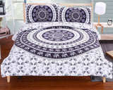 Online discount shop Australia - BeddingOutlet Elephant Bed Sheet Set Bohemian Qualified Soft Duvet Cover and Pillowcases Bedding Set Twin Full Queen King