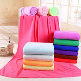 Online discount shop Australia - 140x70cm Supersoft Microfiber Beach Towel Microfibre Bath Towel Sports Towel Gym Fast Drying Cloth Extra Large B5