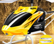Original Syma W25 2 CH 2 Channel Indoor Mini RC Helicopter with Gyro Crash Resistant Baby toys, Yellow
