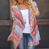 Online discount shop Australia - Boho Womens Cardigan Loose Sweater Outwear Knitted Jacket Coat Tops TW5351