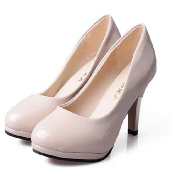 NEW Pumps shallow mouth shoes style thick heel elegant women's sandals shoes fashion shoes