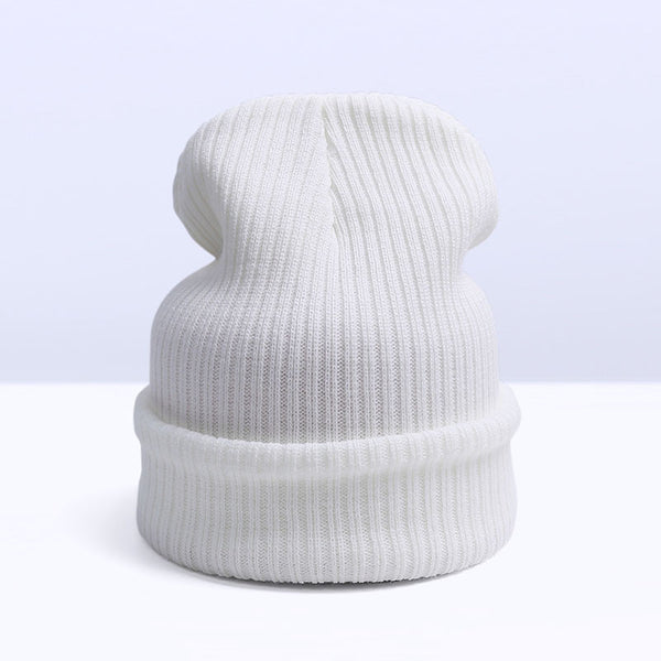 Online discount shop Australia - Fashion Skullies Beanies Women Warm Hat Knit Hat Female Cap Men Hat For Women Beanie Warm Cap Unisex