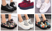Online discount shop Australia - Creepers Shoes Woman zapatos mujer hot Casual Vintage plus size creepers platform shoes women Flats Shoes Women Size 35-41