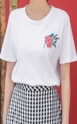 Flower Basic T-Shirt