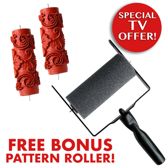 TV Offer - Buy Applicator and Pattern Roller, Get 2nd Pattern Roller FREE!