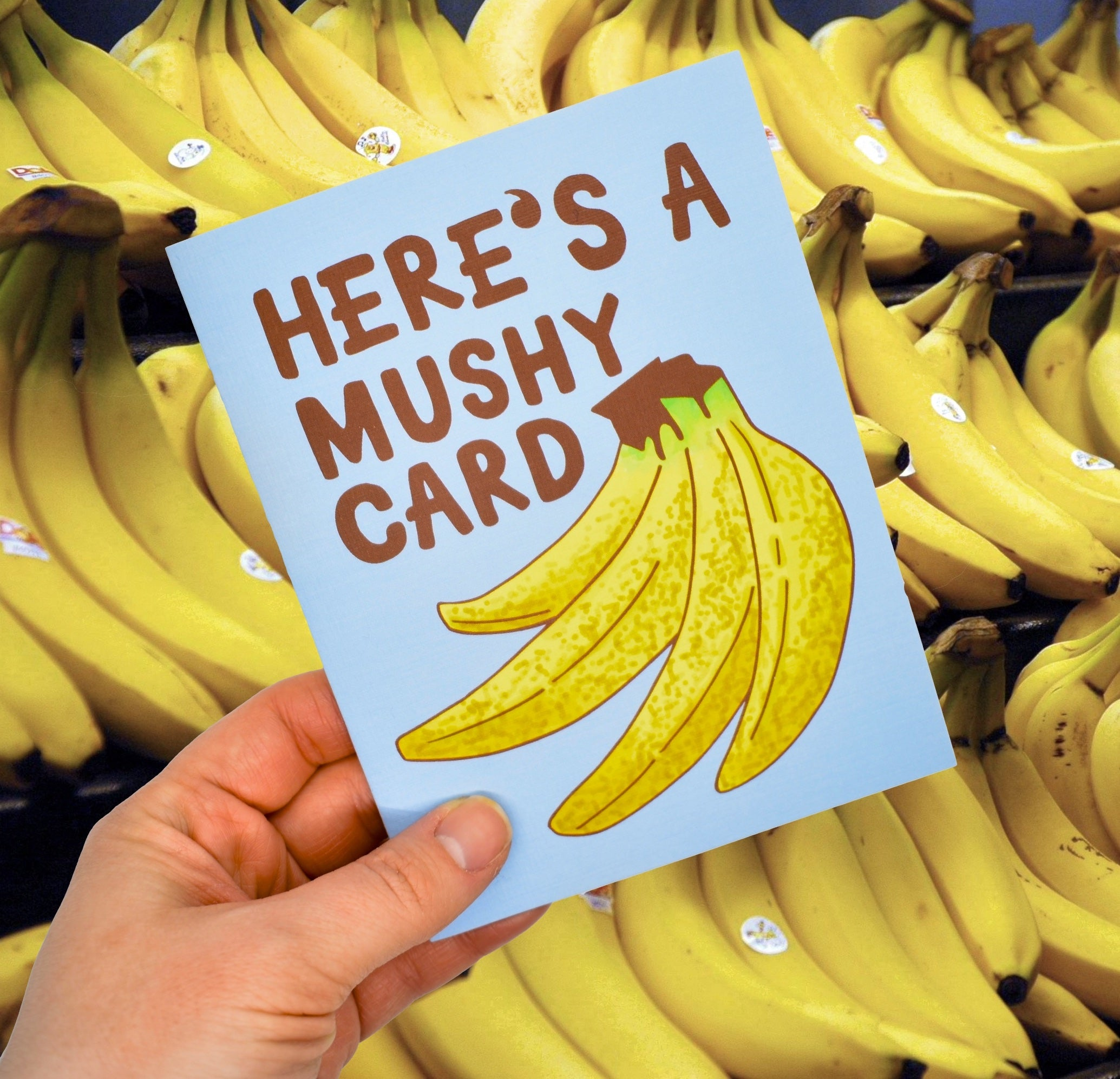 Here's a Mushy Card