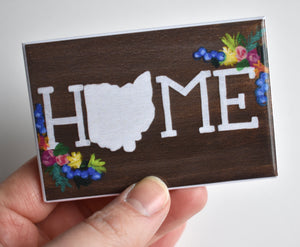 Ohio Home Magnet