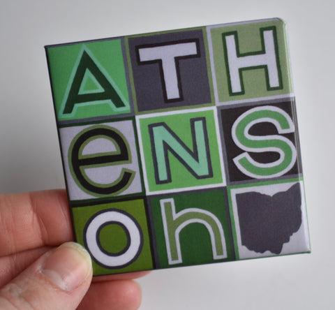Athens Ohio University Magnet